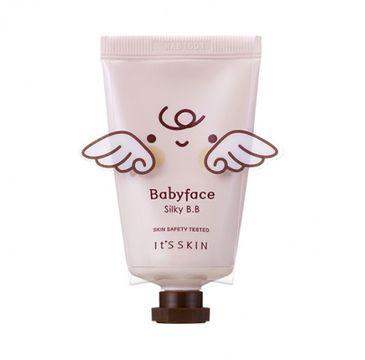 It's Skin Babyface BB Cream (Silky) - krem BB przeznaczony do cery mieszanej i tłustej 30 ml