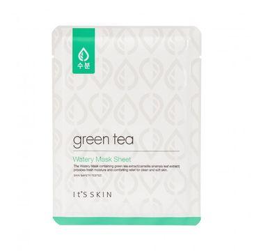 It's Skin Green Tea Watery Mask Sheet - maseczka w płachcie z zieloną herbatą 17 g