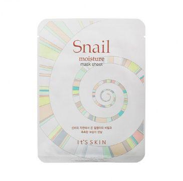 It's Skin Snail Moisture Mask Sheet - maska do twarzy z ekstraktem ze Å›luzu Å›limaka 22 g