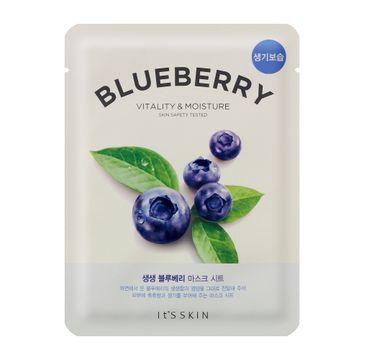 It's Skin The Fresh Mask Sheet Blueberry (maska do twarzy z wyciągiem z borówek 20 ml)