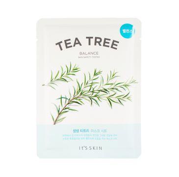 It's Skin The Fresh Mask Sheet Tea Tree (maska do twarzy z wyciÄ…giem z drzewa herbacianego 20 ml)