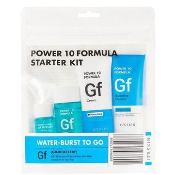 It's Skin Power 10 Formula GF Starter Kit zestaw GF Toner 52ml + GF Effector 12ml + GF Cream 35ml + GF Balancing Cleanser 35ml (1 szt.)