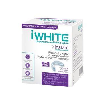 iWhite Instant Teeth Whitening profesjonalny zestaw nakładek do wybielania zębów z żelem 10szt