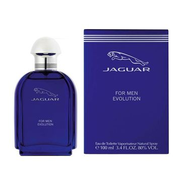 Jaguar Evolution Men woda toaletowa spray 100ml