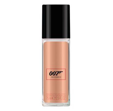 James Bond 007 For Woman II dezodorant spray szkło 75ml
