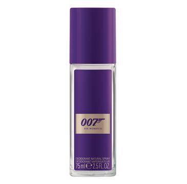 James Bond 007 For Women III dezodorant spray szło 75ml