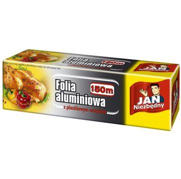 Jan Niezbędny Folia aluminiowa w pudełku 150m 1op.