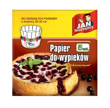 Jan Niezbędny Papier do okrągłych foremek 26-32cm 1 op. - 5 szt.