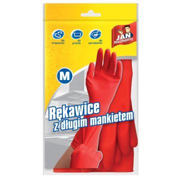 Jan Niezbędny rękawice z długim mankietem rozm. M 1 szt.