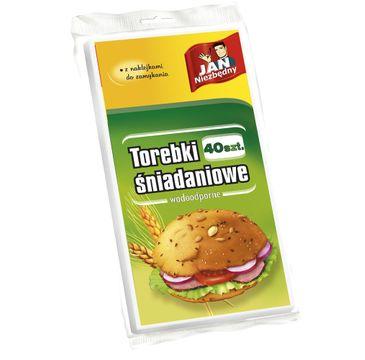 Jan Niezbędny torebki śniadaniowe papierowe 40 szt.