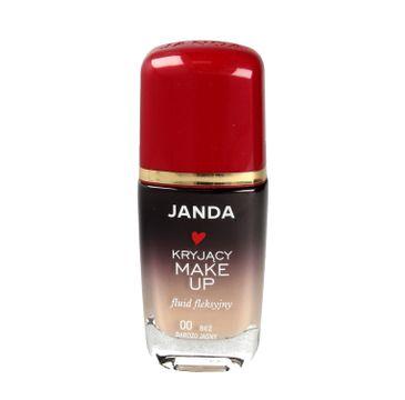 Janda – Podkład sceniczny dobrze kryjący 00 bardzo jasny beż (30 ml)