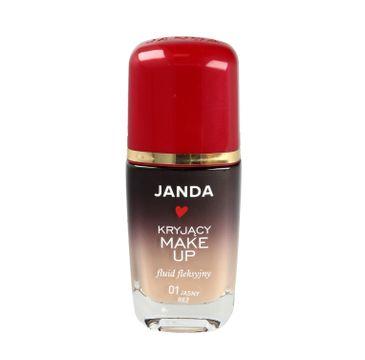 Janda – Podkład sceniczny dobrze kryjący 01 jasny beż (30 ml)