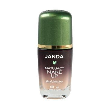 Janda – Podkład sceniczny matujący 00 bardzo jasny beż (30 ml)