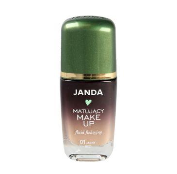 Janda – Podkład sceniczny matujący 01 jasny beż (30 ml)