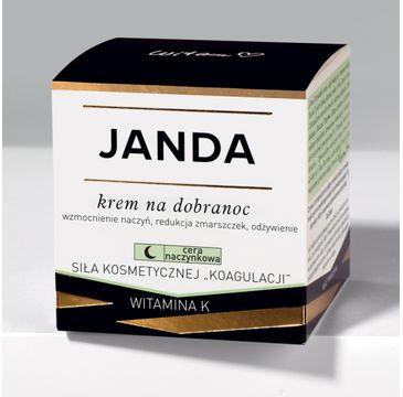 Janda – Cera naczynkowa krem na dobranoc (50 ml)