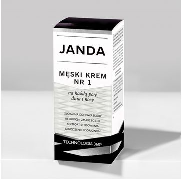 Janda – Męski krem nr 1 na dzień/noc (50 ml)