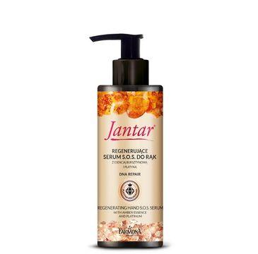 Jantar Body Serum SOS krem do rąk z platyną 100 ml