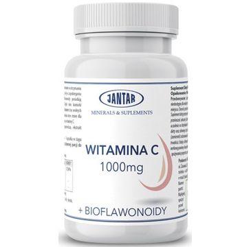 Jantar Witamina C 1000mg + Bioflawonoidy suplement diety 90 kapsułek