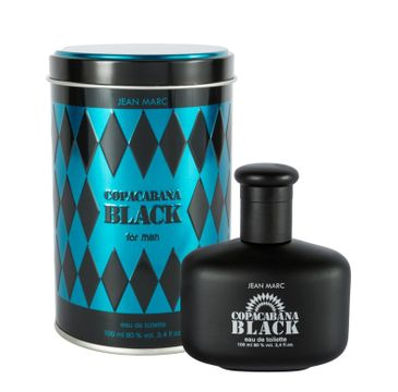 Jean Marc Men Copacabana Black woda toaletowa 100 ml