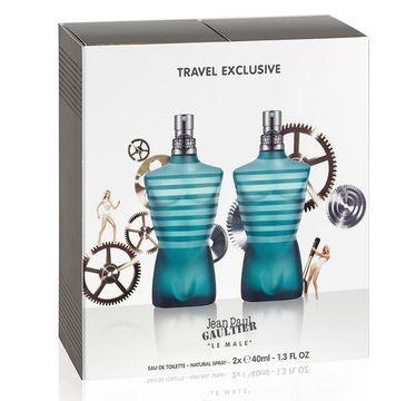 Jean Paul Gaultier Le Male zestaw woda toaletowa spray (2 x 40 ml)