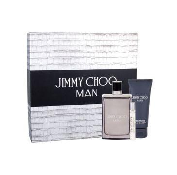 Jimmy Choo Man zestaw woda toaletowa spray 100ml + woda toaletowa spray 7.5ml + balsam po goleniu 100ml