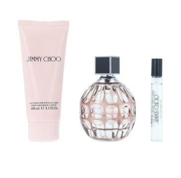 Jimmy Choo zestaw woda perfumowana spray 100ml + balsam do ciała 100ml + woda perfumowana spray 7.5ml