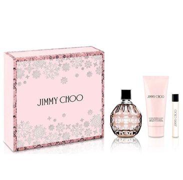 Jimmy Choo zestaw woda perfumowana spray 100ml + woda perfumowana 7.5ml + balsam do ciała 100ml