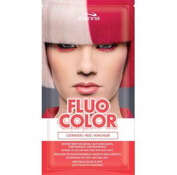 Joanna Fluo Color szampon koloryzujący w saszetce Czerwień 35 g