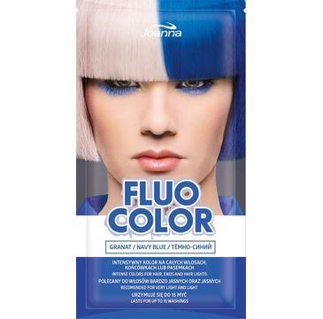 Joanna Fluo Color szampon koloryzujący w saszetce Granat 35 g