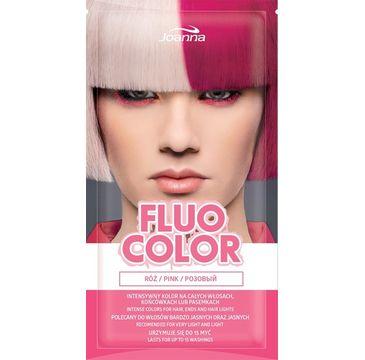 Joanna Fluo Color szampon koloryzujący w saszetce Róż 35 g