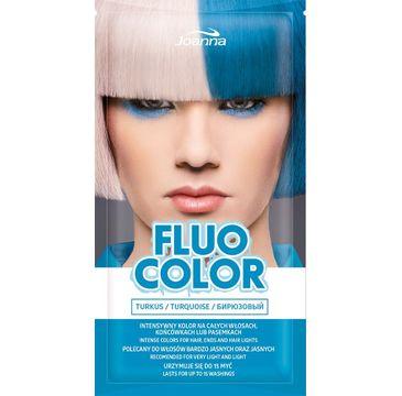 Joanna Fluo Color szampon koloryzujący w saszetce Turkus 35 g
