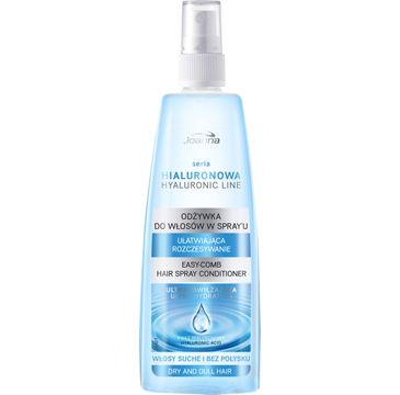 Joanna Hyaluron Line odżywka-spray do włosów suchych i bez połysku wzmacniająca 150 ml