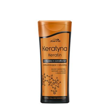 Joanna Keratyna odżywka do włosów szorstkich i zniszczonych wzmacniająca 400 g