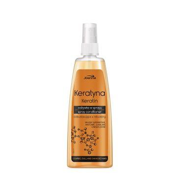Joanna Keratyna odżywka-spray do włosów szorstkich i zniszczonych 150 ml