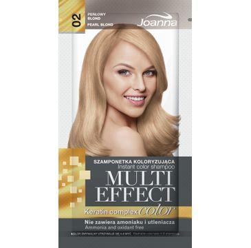 Joanna Multi Effect Color Keratin Complex szamponetka do każdego typu włosów 02 perłowy blond 35 g