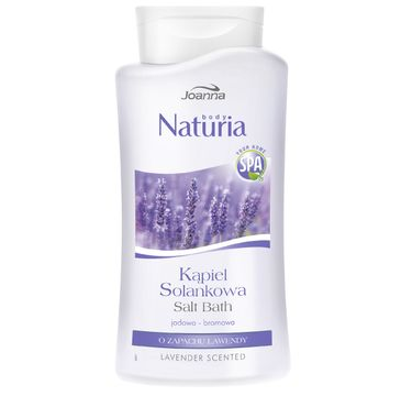 Joanna Naturia Body Spa kąpiel solankowa lawenda 500 ml