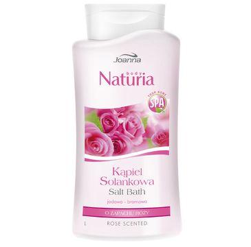 Joanna Naturia Body Spa kąpiel solankowa róża 500 ml