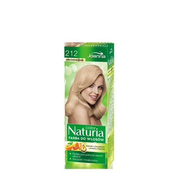 Joanna Naturia Color farba do każdego typu włosów nr 212 szlachetna perła 150 g