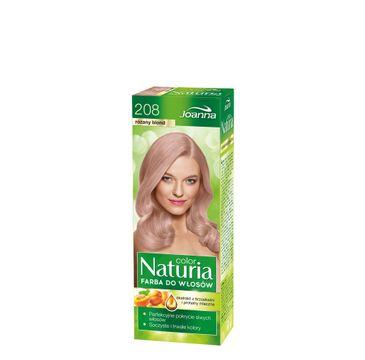 Joanna Naturia Color farba do włosów nr 208-różany blond 150 g