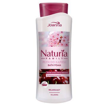 Joanna Naturia Family płyn do kąpieli Kwiat Wiśni relaksujący 750 ml