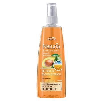 Joanna Naturia odżywka-spray do włosów regenerująca awokado i kiełki pszenicy 150 ml