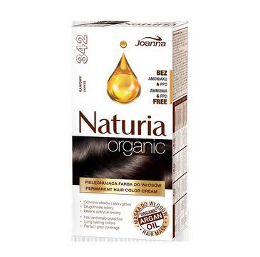 Joanna Naturia Organic farba do każdego typu włosów nr 342 kawowy 100 g