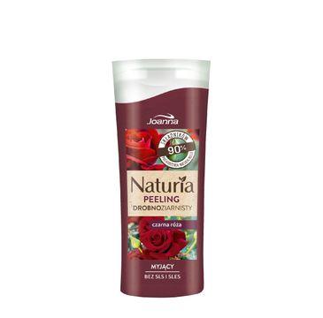 Joanna Naturia Peeling do ciała drobnoziarnisty Czarna Róża 100 g