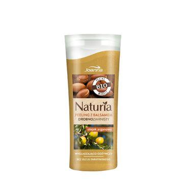 Joanna Naturia peeling do każdego typu skóry drobnoziarnisty nawilżający olejek arganowy mini 100 g