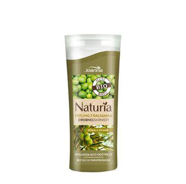 Joanna Naturia peeling do każdego typu skóry drobnoziarnisty oliwa z oliwek mini 100 g