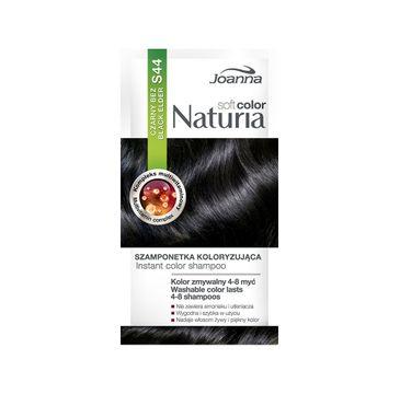 Joanna Naturia Soft Color szamponetka koloryzująca S44 Czarny Bez (35 g)
