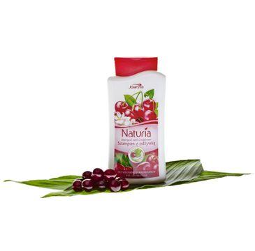 Joanna Naturia szampon do włosów farbowanych wiśnia 500 ml