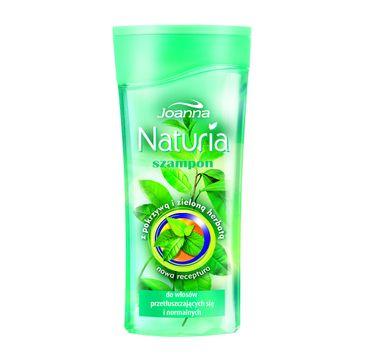 Joanna Naturia szampon do włosów przetłuszczających się pokrzywa i zielona herbata 200 ml