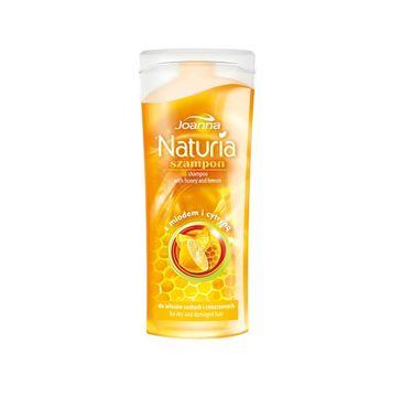 Joanna Naturia szampon do włosów zniszczonych miód i cytryna 100 ml