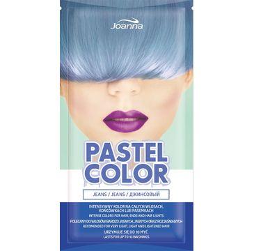 Joanna Pastel Color szampon koloryzujący w saszetce Jeans 35 g
